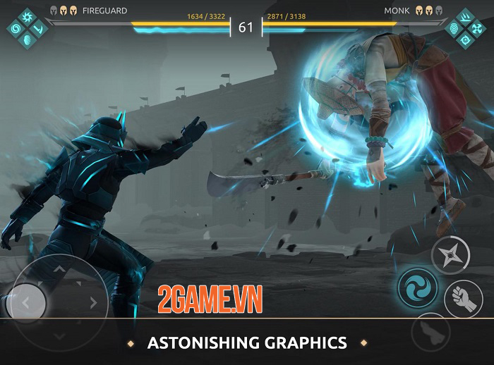 Shadow Fight Arena - Game PVP với dàn anh hùng từ vũ trụ Shadow Fight 1