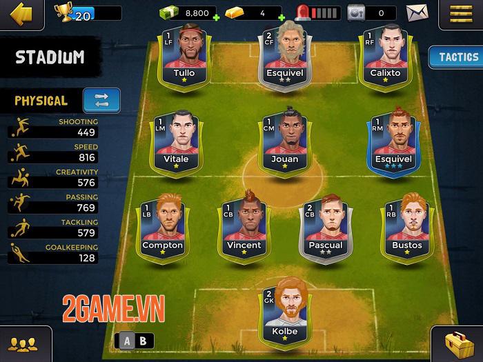 Underworld Football Manager 2 - Bước tiến mới của game quản lý bóng đá 1