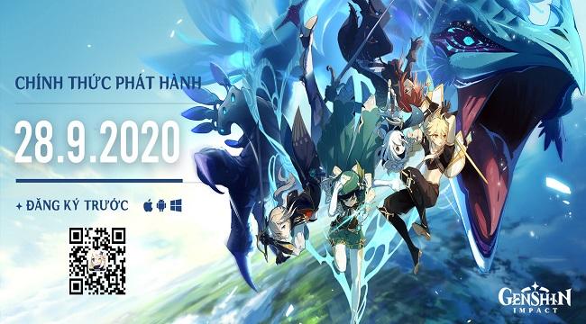 Genshin Impact ấn định ra mắt chính thức toàn cầu trên cả PC lẫn Mobile