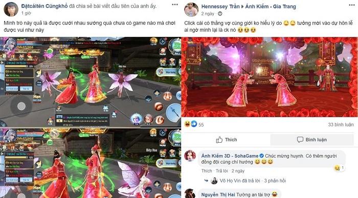 Tâm sự game thủ Ảnh Kiếm 3D: Nhắm mắt vào mở mắt ra bỗng thành gái có chồng 2