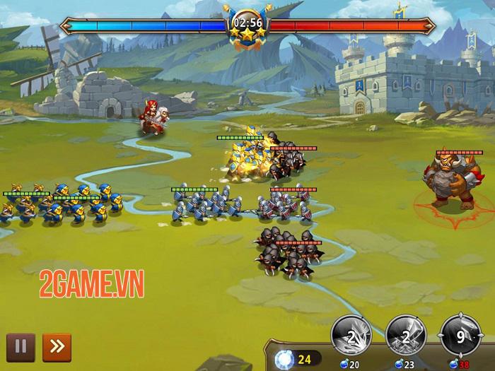 Might Magic: Era of Chaos - Game nhập vai chiến đấu quân đội phong cách anime 2