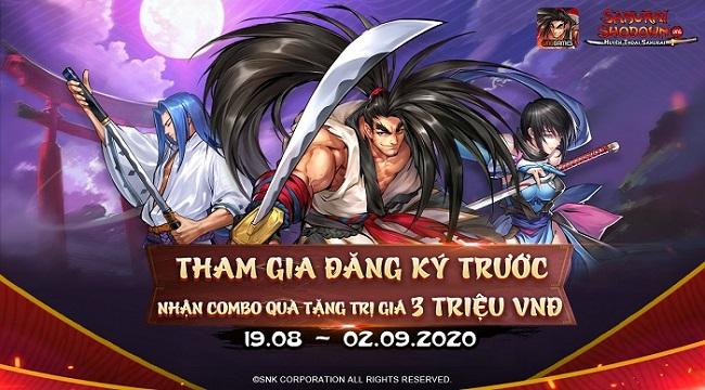 Samurai Shodown VNG chính thức mở trang đăng kí trước cho game thủ Việt