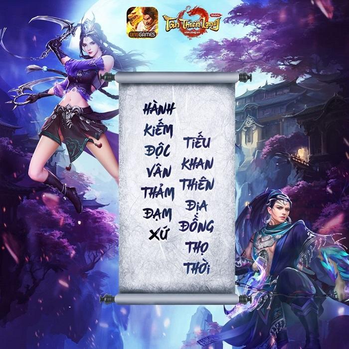 Tân Thiên Long Mobile VNG công bố tên gọi phiên bản mới là Tinh Túc Độc Mệnh 3