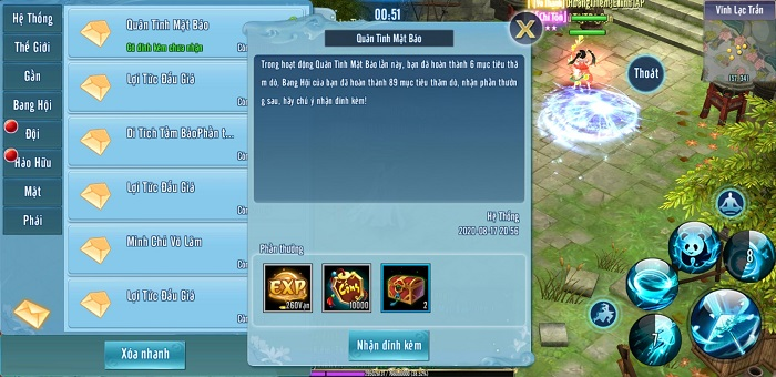Bí kíp trở thành đệ nhất săn lùng Mật Báo tại Võ Lâm Truyền Kỳ Mobile 6