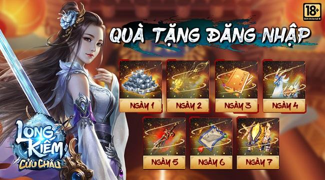 Tặng 500 giftcode game Long Kiếm Cửu Châu
