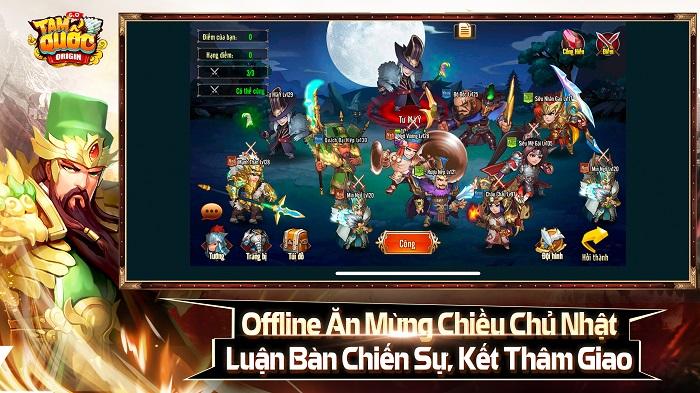 Tặng 308 giftcode game Tam Quốc Origin 3