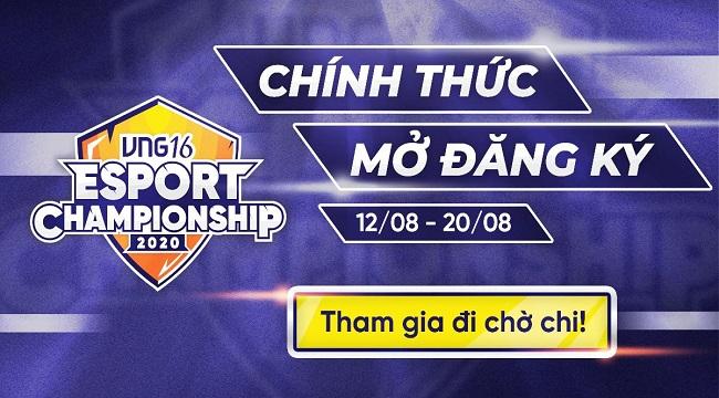 VNG tổ chức giải đấu nội bộ Esport Championship 2020
