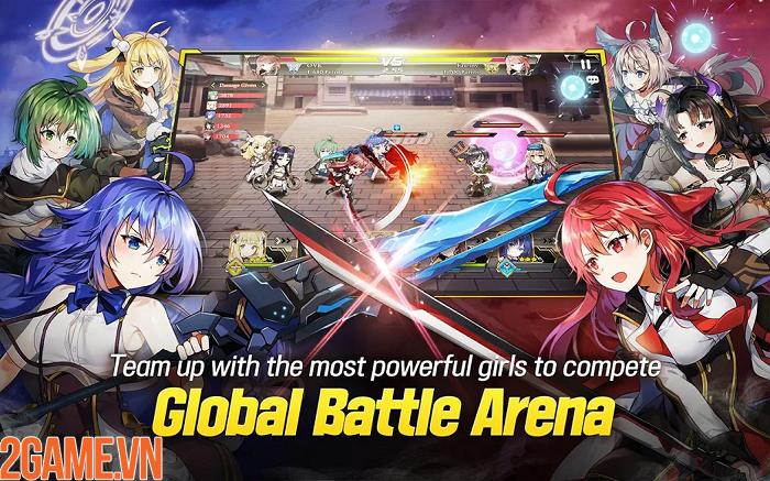 Xao xuyến với các nữ thần trong tựa game GODDESS KiSS:O.V.E Mobile 4