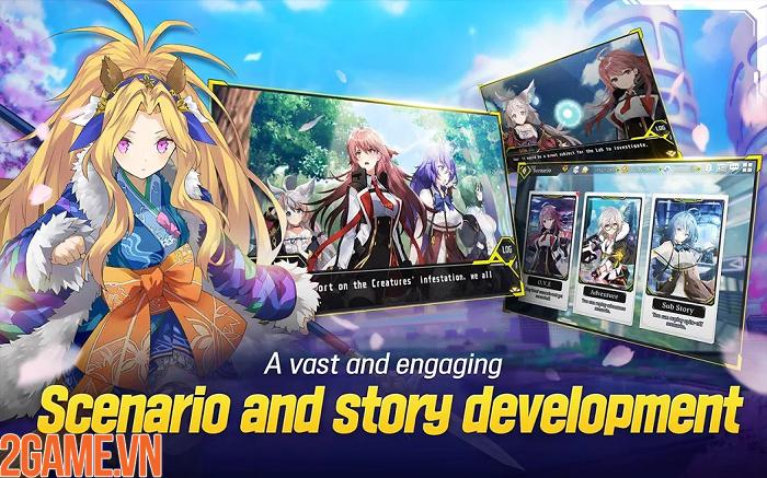 Xao xuyến với các nữ thần trong tựa game GODDESS KiSS:O.V.E Mobile 6