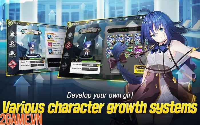 Xao xuyến với các nữ thần trong tựa game GODDESS KiSS:O.V.E Mobile 7