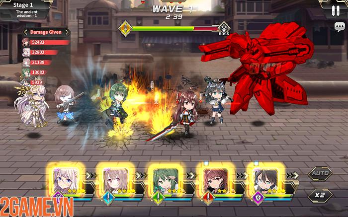 Xao xuyến với các nữ thần trong tựa game GODDESS KiSS:O.V.E Mobile 3