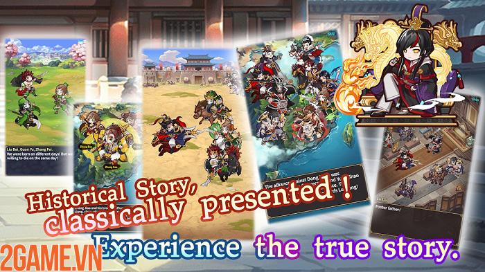 Luna Storia:Three Kingdoms - Tam quốc chiến phiên bản siêu đáng yêu! 1
