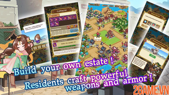 Luna Storia:Three Kingdoms - Tam quốc chiến phiên bản siêu đáng yêu! 3