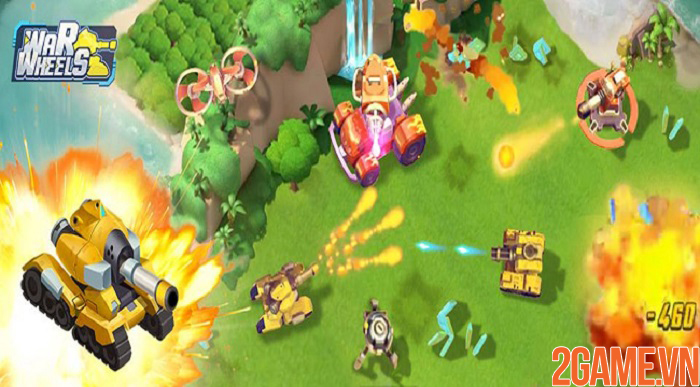 War Wheels – Hit and Run với cỗ chiến tăng hùng mạnh trong tầm tay 0