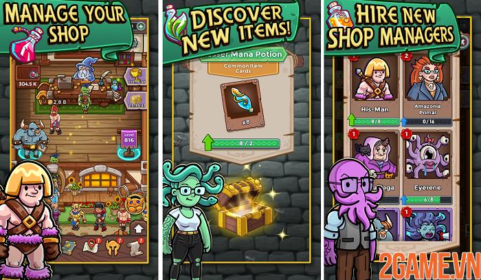 Trở thành thương gia bậc thầy trong Dungeon Shop Tycoon 0
