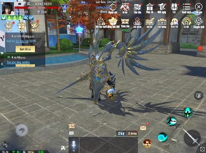 Game thủ Kỷ Nguyên Huyền Thoại đã được sờ tận tay Big Update 2