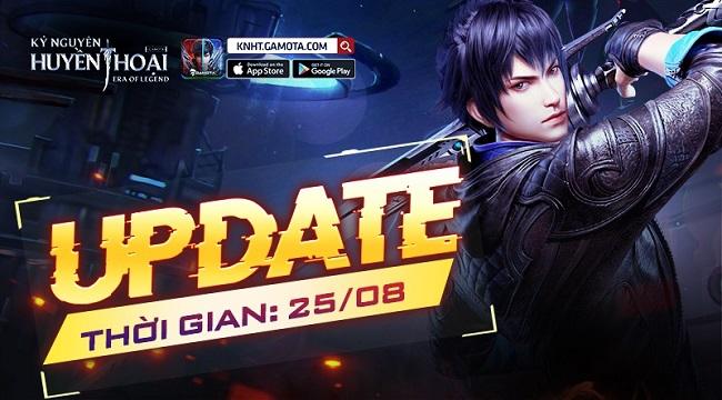 Game thủ Kỷ Nguyên Huyền Thoại đã được sờ tận tay Big Update