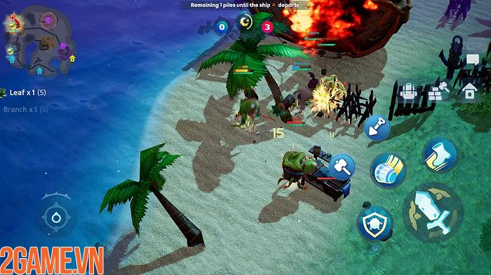 Sinh tồn trên đảo giấu vàng trong game mobile Oddria! 0