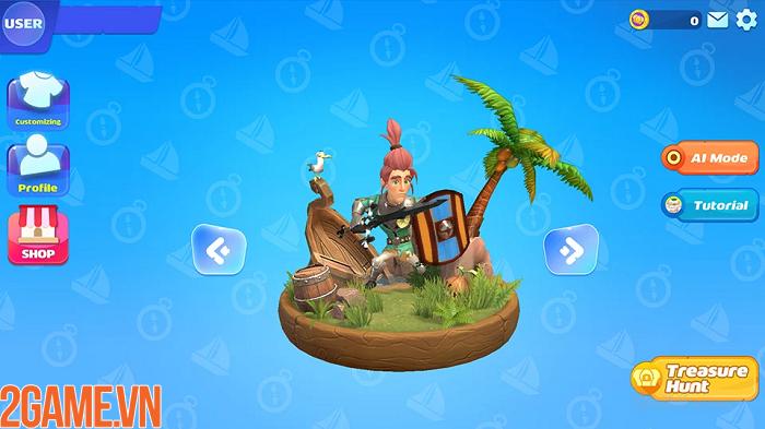 Sinh tồn trên đảo giấu vàng trong game mobile Oddria! 3