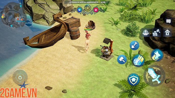 Sinh tồn trên đảo giấu vàng trong game mobile Oddria! 4