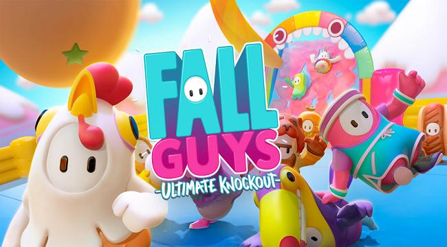 Game battle royale Fall Guys với đồ họa siêu đáng yêu ra mắt phiên bản mobile