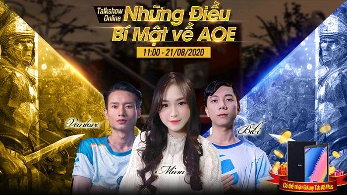Hàng loạt streamer AOE ồ ạt đổ bộ Tam Quốc Liệt Truyện lên sóng thách đấu 1