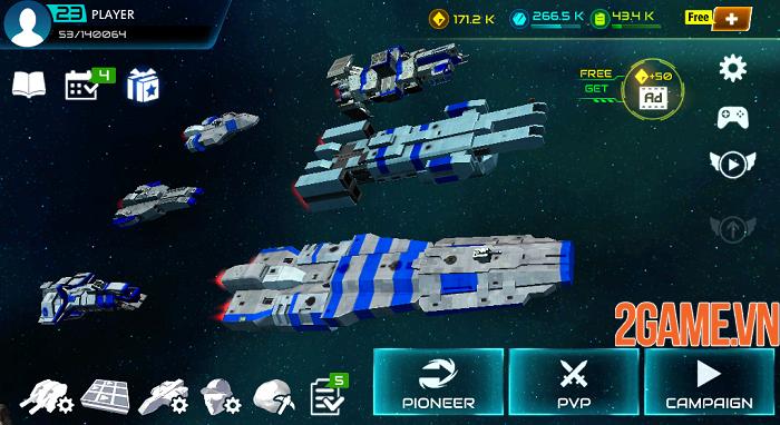 Khám phá đại chiến thiên hà đầy kịch tính trong Starship Battle 0