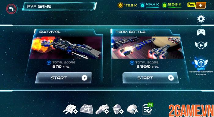 Khám phá đại chiến thiên hà đầy kịch tính trong Starship Battle 1
