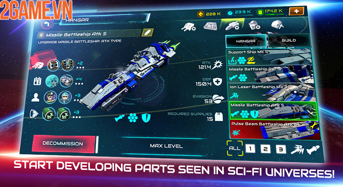 Khám phá đại chiến thiên hà đầy kịch tính trong Starship Battle 3
