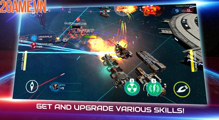 Khám phá đại chiến thiên hà đầy kịch tính trong Starship Battle 5