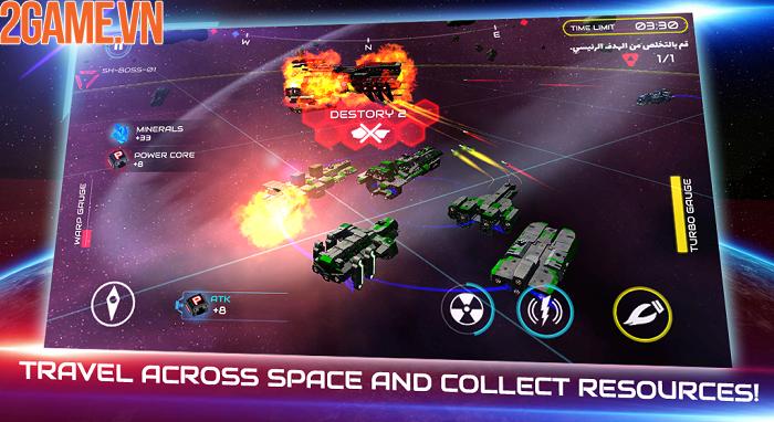 Khám phá đại chiến thiên hà đầy kịch tính trong Starship Battle 6