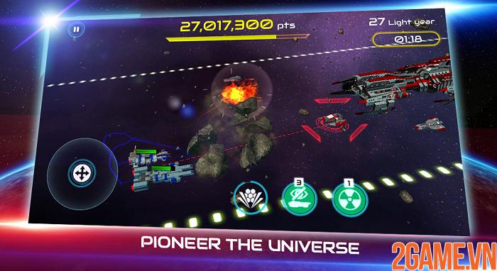 Khám phá đại chiến thiên hà đầy kịch tính trong Starship Battle 7