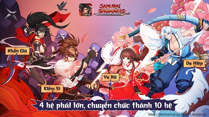 Samurai Shodown VNG đưa người chơi du hành về Nhật Bản cổ đại 4