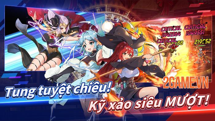 Múa kiếm cùng các thánh nữ tuyệt sắc trong Sword Master Story Việt Hóa 1