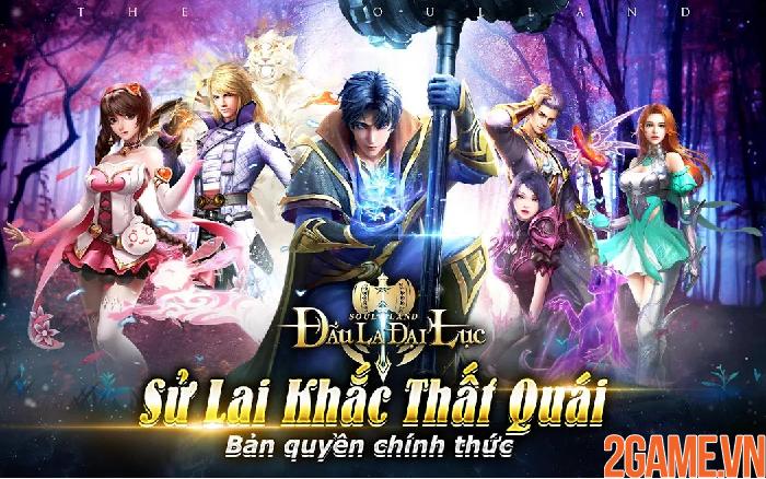 Soul land - Đấu La Đại Lục mobile khai mở đăng ký trước cho người chơi 0