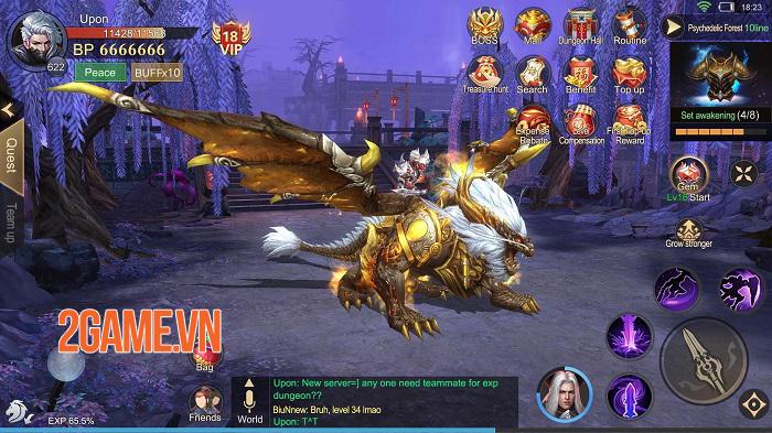 Dragon Fall: Revolution - Game nhập vai săn quái vật có tạo hình tinh tế 1