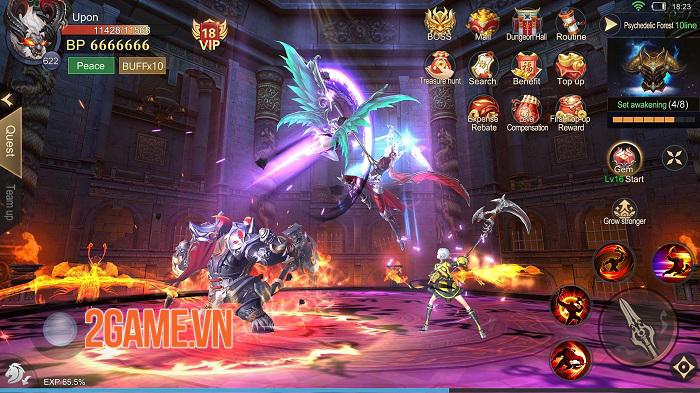 Dragon Fall: Revolution - Game nhập vai săn quái vật có tạo hình tinh tế 2