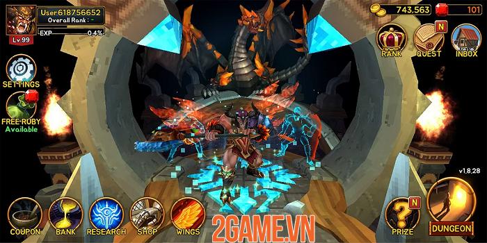 Death Dungeon:Demon Hunting - hành trình của Chiến Thần từ hỏa ngục 1