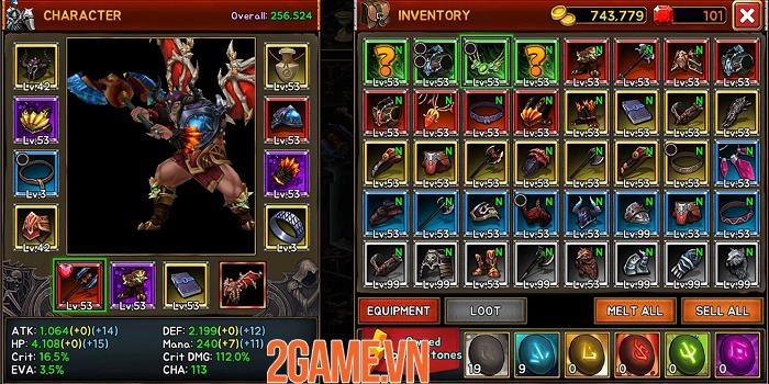 Death Dungeon:Demon Hunting - hành trình của Chiến Thần từ hỏa ngục 2