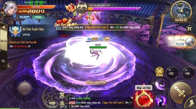 Thiên Khởi Chi Môn tạo nhiệt suốt hành trình trải nghiệm với gameplay chuẩn vị