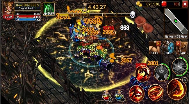 Death Dungeon:Demon Hunting – hành trình của Chiến Thần từ hỏa ngục