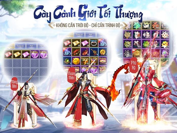 Game mobile hội tụ tinh hoa Võ lâm - Thiên Ngoại Giang Hồ sắp ra mắt 3