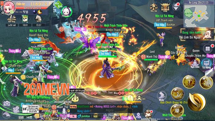 Game mobile hội tụ tinh hoa Võ lâm - Thiên Ngoại Giang Hồ sắp ra mắt 2