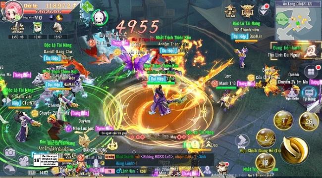 Game mobile hội tụ tinh hoa Võ lâm – Thiên Ngoại Giang Hồ sắp ra mắt