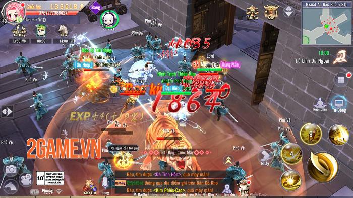 Game mobile hội tụ tinh hoa Võ lâm - Thiên Ngoại Giang Hồ sắp ra mắt 4