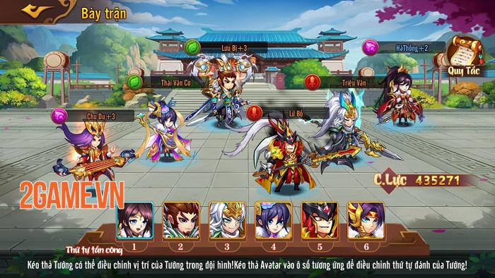 Game đấu tướng xếp lượt tự do Võ Thần Tam Quốc ấn định ra mắt chính thức 0