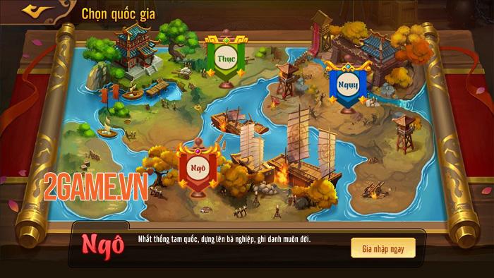 Game đấu tướng xếp lượt tự do Võ Thần Tam Quốc ấn định ra mắt chính thức 3