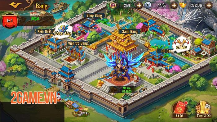 Game đấu tướng xếp lượt tự do Võ Thần Tam Quốc ấn định ra mắt chính thức 4