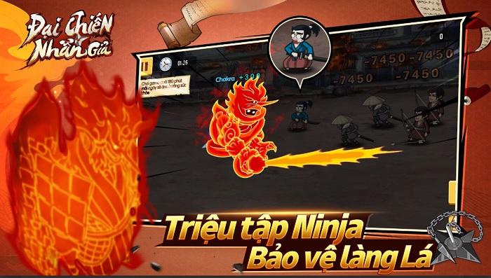 Game mobile Naruto huyền thoại Đại Chiến Nhẫn Giả ấn định ra mắt 0
