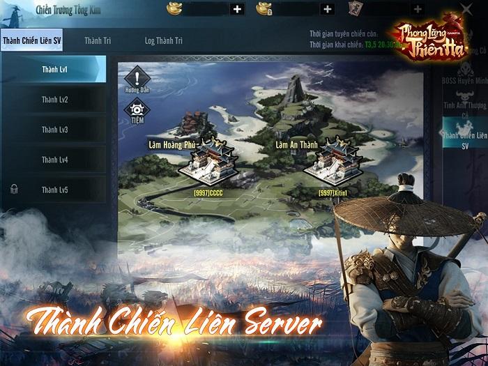 Phong Lăng Thiên Hạ ra mắt landing page công bố lộ trình ra mắt 0